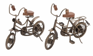 Metal Cycle 2 Assorted Unique Home Accents - 26710 by Benzara
