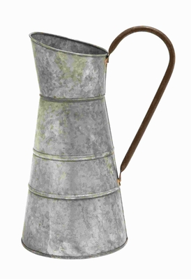 Galvanized Watering Jug With Classic Style Design - 38182 by Benzara
