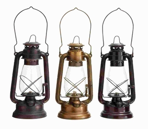 Lantern Assorted in Classical Style - Set of 3 - 46696 by Benzara