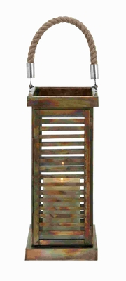 Lantern With Contemporary Twist To Simpledecor Style - 27438 by Benzara