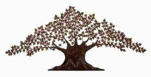 METAL WALL TREE DECOR FOR SPECIAL LIKING FOR NATURE - 72270 by Benzara
