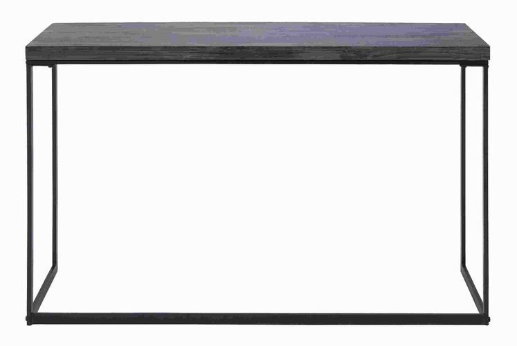 Benzara 50434 metal wood console table with sturdy metal for Metal and wood console tables