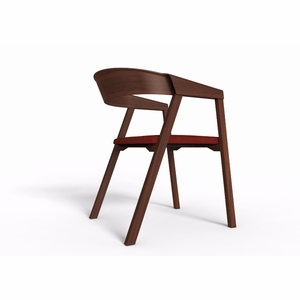 Mid-Century Modern Elbow Ashtree Chair [IN4W]