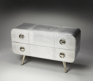 Butler Midway Aviator Console Chest