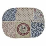 Millie Patchwork Rug Oval 46x70