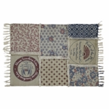 Millie Patchwork Rug Rect 48x70