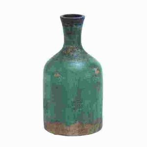 Long Lasting Terracotta Bottle Vase With Rich Color - 38141 by Benzara