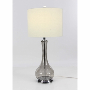 Modish Glass Table Lamp - 39970 by Benzara