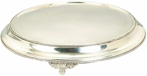 Stainless Steel Cake Stand, 15-inch - 30423 by Benzara