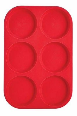 Mrs. Anderson's Baking Silicone 6-Cup Muffin Top Pan, BPA Free