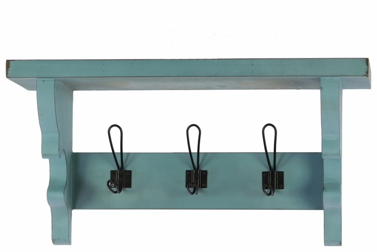 buy multi purpose wooden wall shelf with corbels and 3. Black Bedroom Furniture Sets. Home Design Ideas