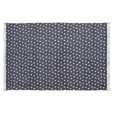 Multi Star Navy Cotton Rug Rect 48x72