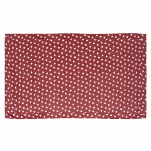 Multi Star Red Table Cloth