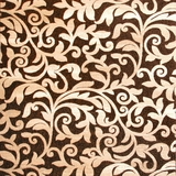 Namur Contemporary Area Rug, Brown Floral Pattern