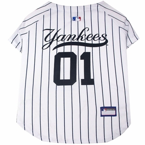 New York Yankees Dog Jersey Medium