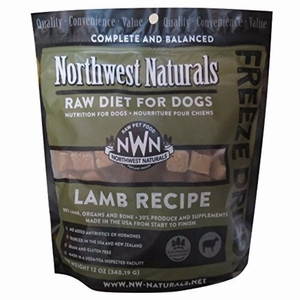 Northwest Naturals Raw Rewards Freeze Dried Nuggets - Dinner for Dogs (Lamb)