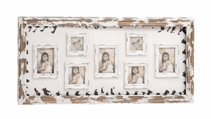 Nostalgic Wood Wall Photo Frame - 76174 by Benzara