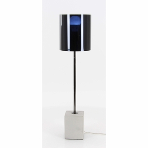 Novel Metal Cement Table Lamp - 58699 by Benzara