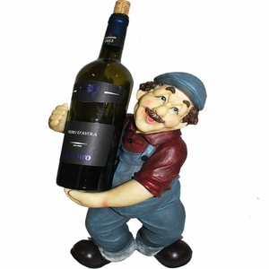 Novel Wine Holder - Farmer