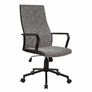 OFC-AC-CN-BK-T Congress Height Adjustable Office Chair with Swivel