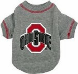 Ohio State Dog Tee Shirt Small