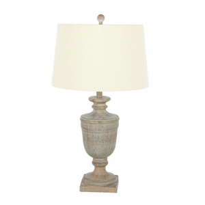 Olivia Chic Resin Table Lamp - 47634 by Benzara