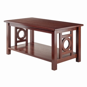 Ollie Coffee Table Walnut by Winsome Wood