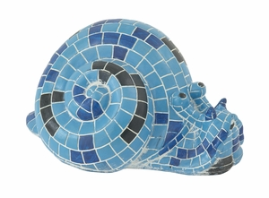 Ornamental Blue Snail - 58583 by Benzara