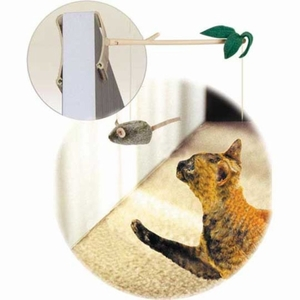 Our Pets Batting Practice Interactive Cat Toy