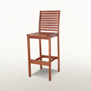 Outdoor Wood Bar Chair by Vifah