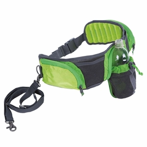 Outward Hound Hands Free Hipster Dog Walking Pack Green / Gray 4x 7x 2 Inch