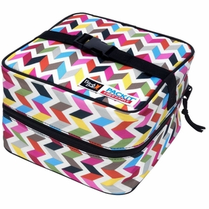 PackIt Lunch Bag, Gray Stripe