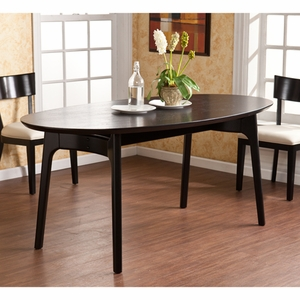 Paolo Dining Table - Black by Southern Enterprises