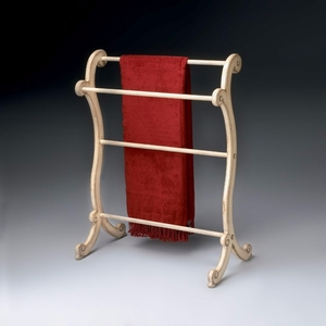 "Parchment Blanket Rack 28""W by Butler Specialty"