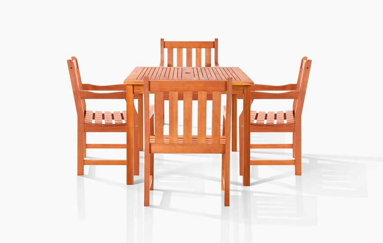 Vifah Vfh V1401set8 Pasadena Outdoor Dining Set By Vifah
