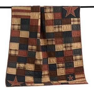 Patriotic Patch Throw  Not Only Throw But Bedroom Decor Also Brand VHC