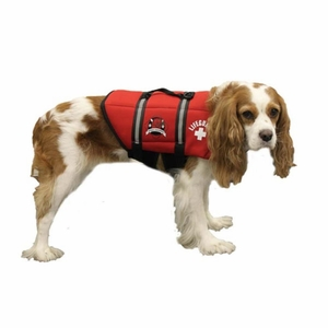Paws Aboard Dog Life Jacket Extra Large Red