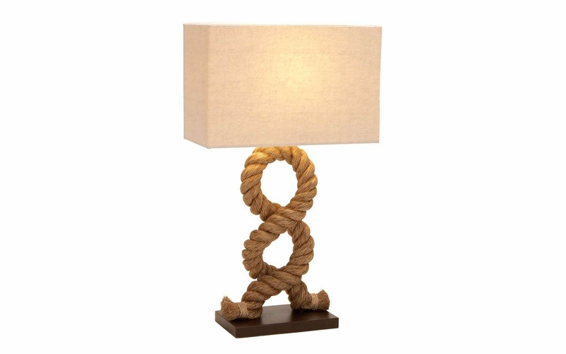 Benzara 67670 pier inspired table lamp unique and modern for Cool table lamps modern