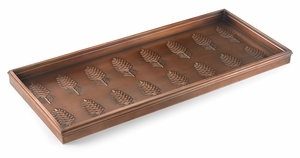 Pine Cones Boot Tray - Venetian Bronze by Good Directions