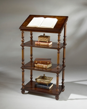 """Plantation Cherry Library Stand 24""""W by Butler Specialty"""