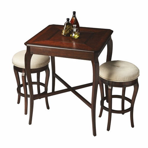Butler specialty bts 2237024 plantation cherry pub game for Wild orchid furniture