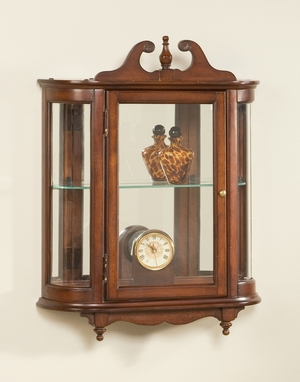 """Plantation Cherry Wall Curio 21""""W by Butler Specialty"""