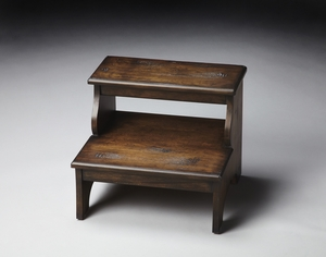 """Praline Step Stool 18""""W by Butler Specialty"""