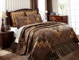 Prescott Premium Soft Cotton Quilt Luxury Super King 120 x105 by VHC Brands