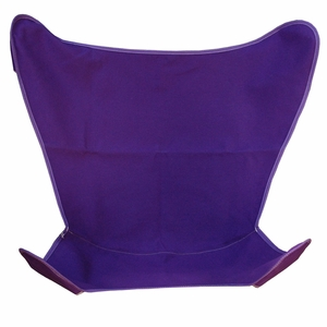 Pretty Purple Replacement Cover for Butterfly Chair by Algoma