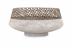 Pretty Rowan Metal Bowl