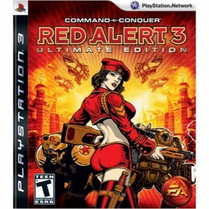 PS3 Command & Conquer Red Alert 3