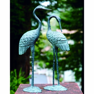 Purple Colored Delightful Lovers Cranes PR by SPI-HOME