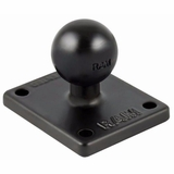 Ram Mount 2 x 1.7 Inches Base with 1-Inch Ball that Contains the Universal AMPs