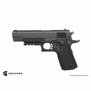 Recover Tactical CC3 Grip and Rail System RCV-W-CC3-BLK